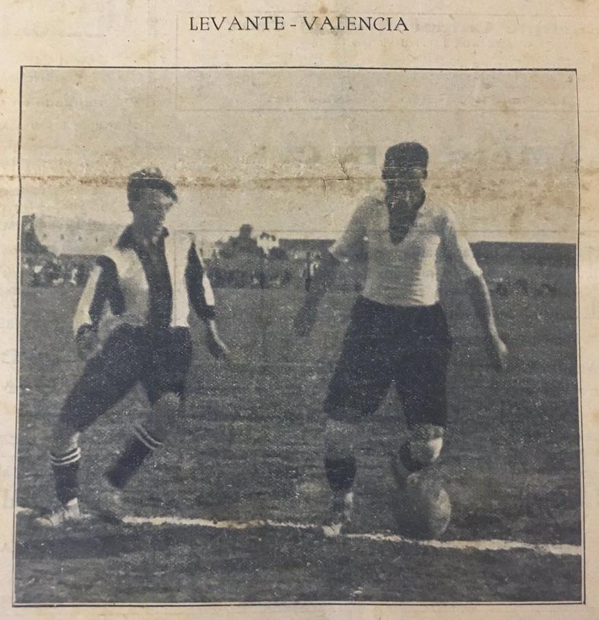 29.10.1922: Levante UD 0 - 2 Valencia CF