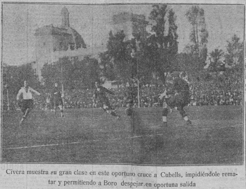 21.10.1923: Gimnástico CF 2 - 2 Valencia CF