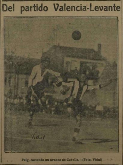 28.10.1923: Levante UD 1 - 1 Valencia CF