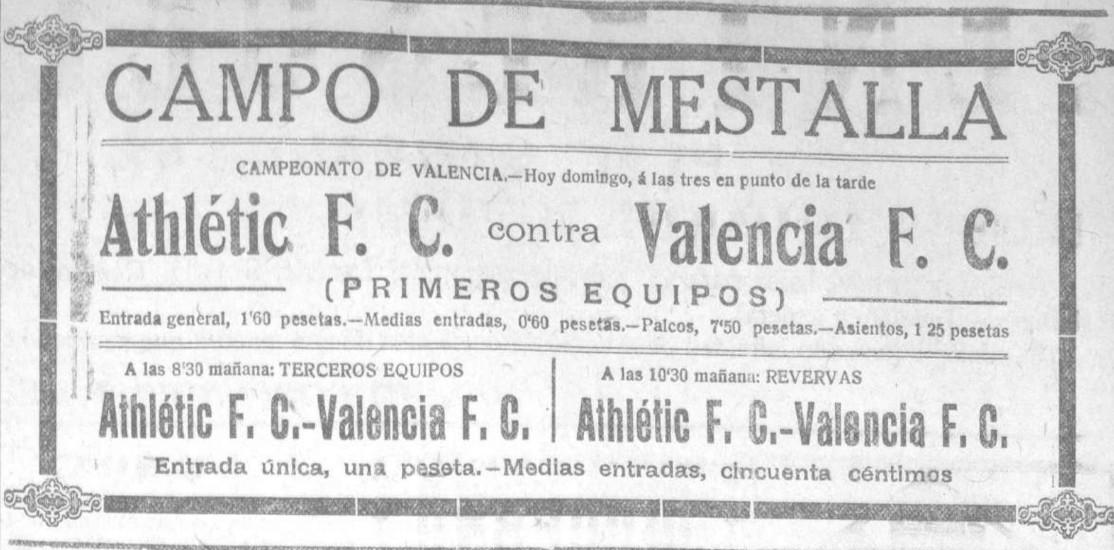 09.11.1924: Valencia CF 5 - 1 At. Valencia