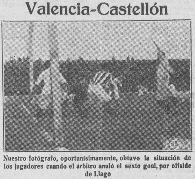18.04.1926: Valencia CF 5 - 0 CD Castellón