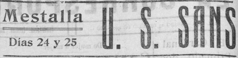 25.07.1927: Valencia CF 2 - 2 UE Sants