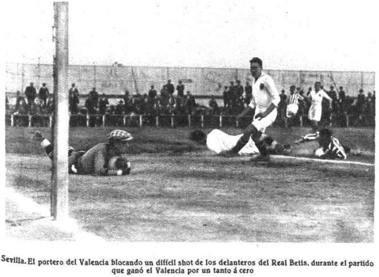 01.04.1928: Real Betis 0 - 1 Valencia CF