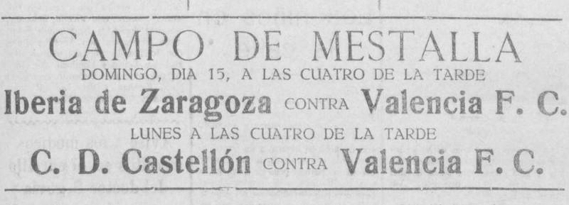 15.04.1928: Real Madrid 2 - 2 Valencia CF