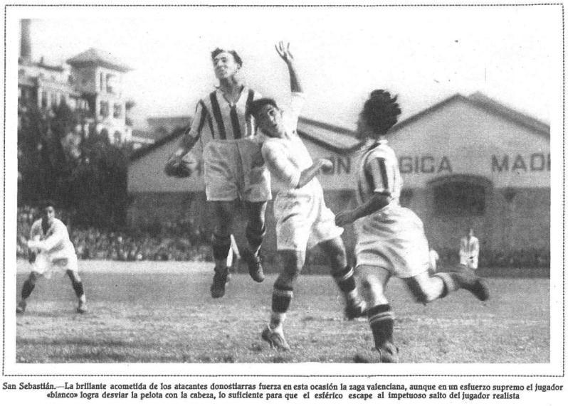 06.05.1928: Real Sociedad 7 - 0 Valencia CF
