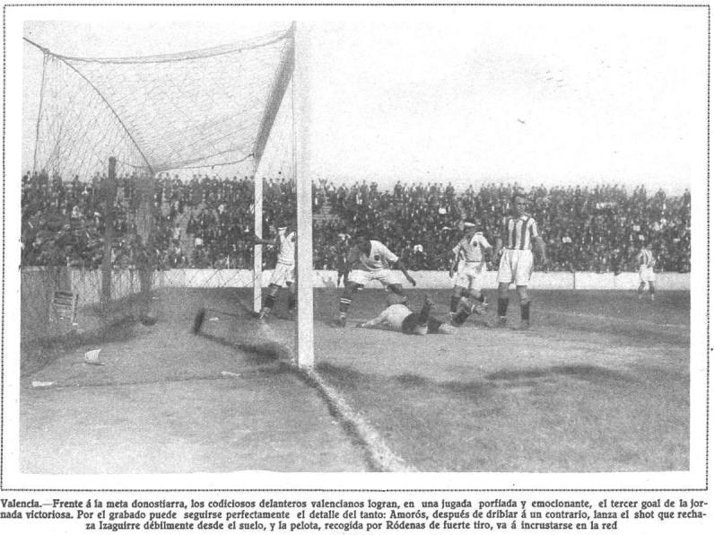 13.05.1928: Valencia CF 3 - 2 Real Sociedad