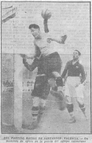 13.01.1929: Rac. Santander 2 - 1 Valencia CF