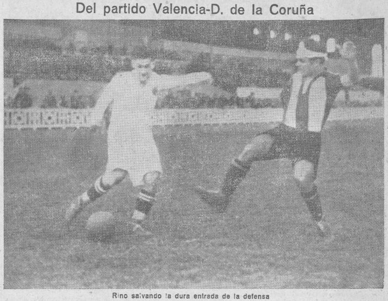 03.03.1929: Valencia CF 2 - 1 Dep. Coruña