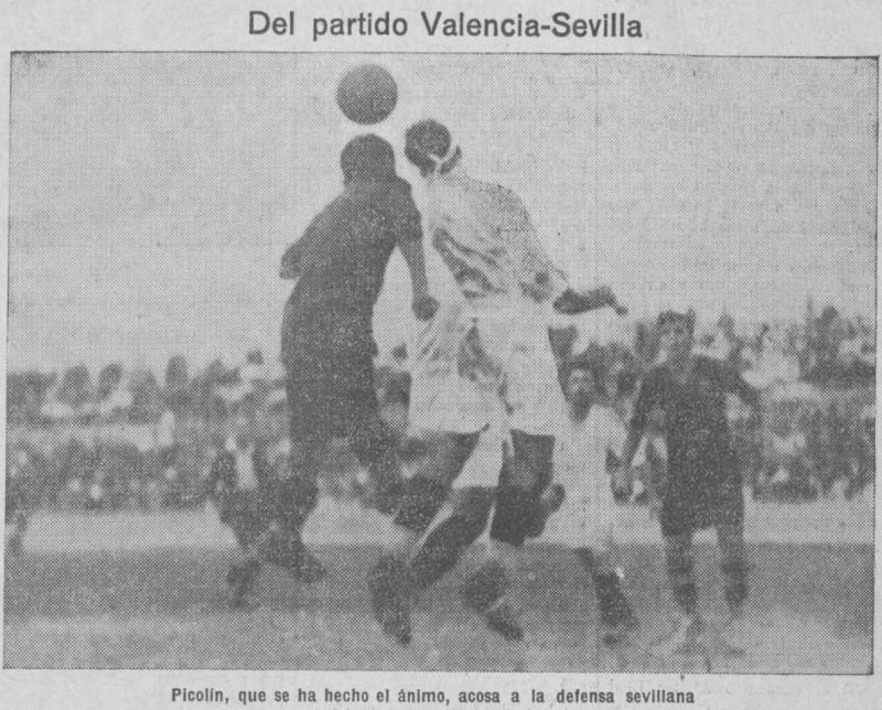 23.06.1929: Valencia CF 2 - 2 Sevilla FC