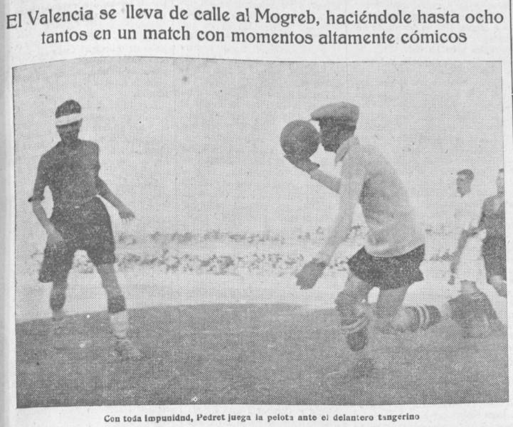 13.10.1929: Valencia CF 8 - 0 Mogreb Atlético