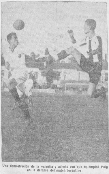 20.10.1929: Levante UD 2 - 3 Valencia CF