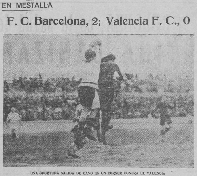 22.01.1930: Valencia CF 0 - 2 FC Barcelona