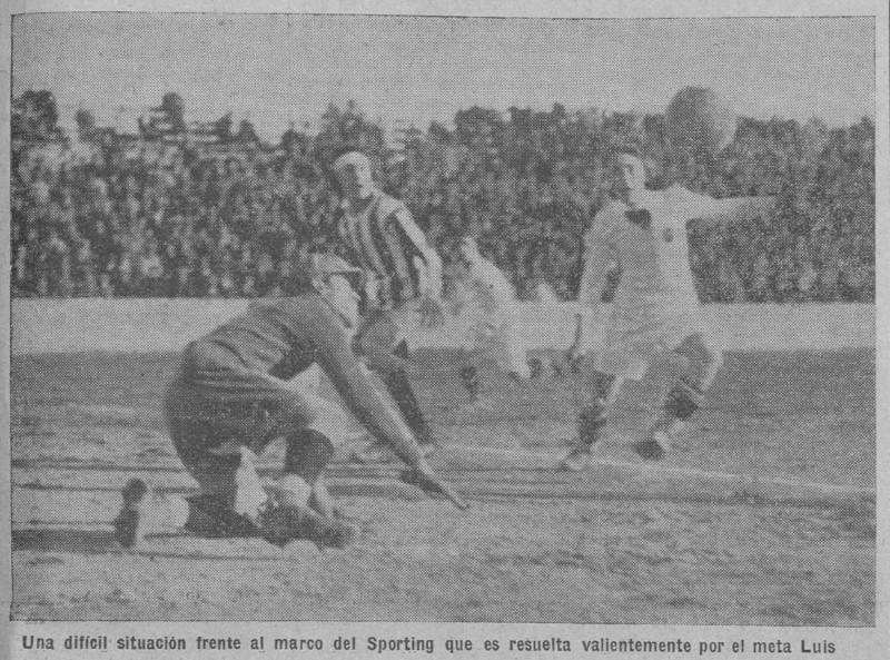 26.01.1930: Valencia CF 2 - 2 Sporting Gijón