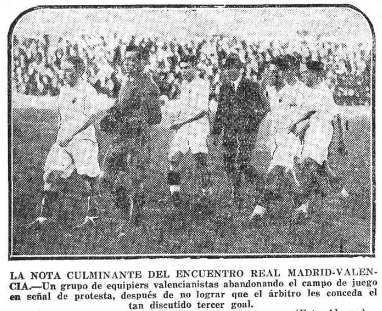 11.05.1930: Real Madrid 0 - 2 Valencia CF