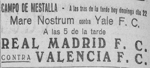 22.06.1930: Valencia CF 1 - 3 Real Madrid