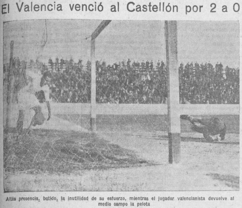 01.03.1931: Valencia CF 2 - 0 CD Castellón