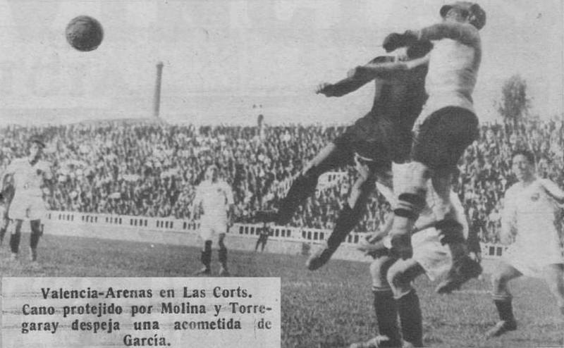 02.06.1931: Arenas Getxo 2 - 1 Valencia CF
