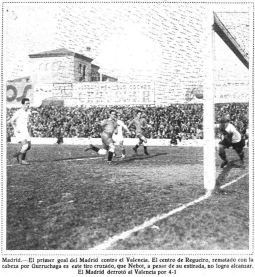 21.02.1932: Real Madrid 4 - 1 Valencia CF