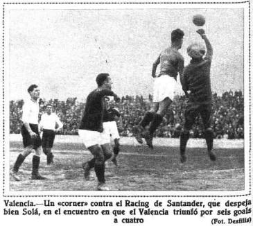 13.03.1932: Valencia CF 6 - 4 Rac. Santander