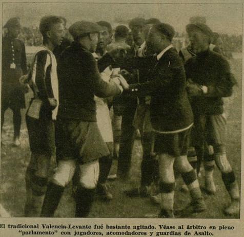 13.11.1932: Valencia CF 5 - 0 Levante UD