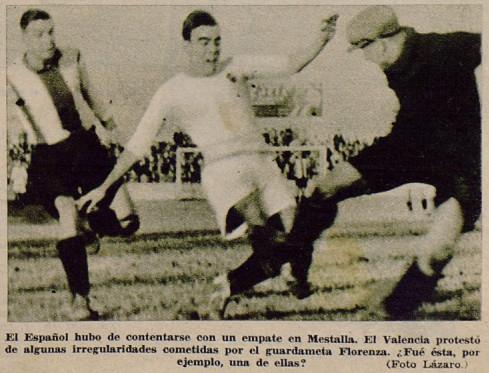 01.01.1933: Valencia CF 1 - 1 RCD Espanyol