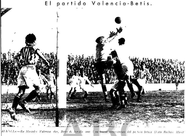 05.02.1933: Valencia CF 2 - 1 Real Betis