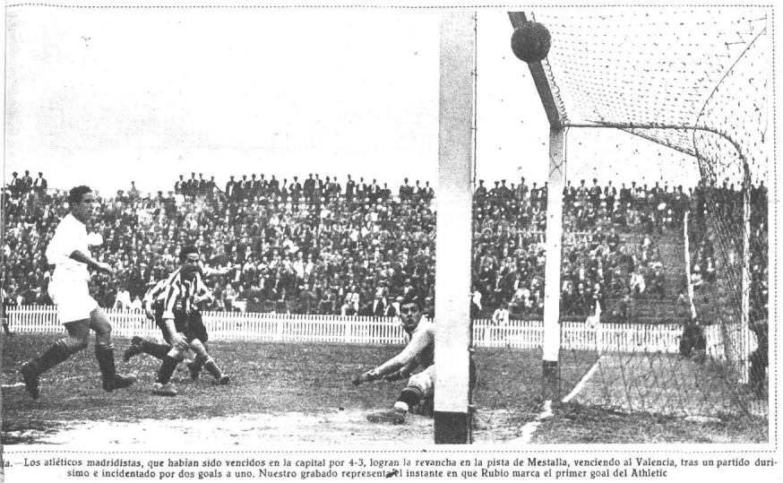 14.05.1933: Valencia CF 1 - 2 At. Madrid
