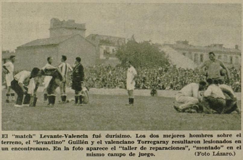 22.10.1933: Levante UD 1 - 0 Valencia CF
