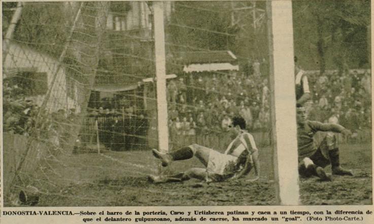 26.11.1933: Real Sociedad 3 - 1 Valencia CF