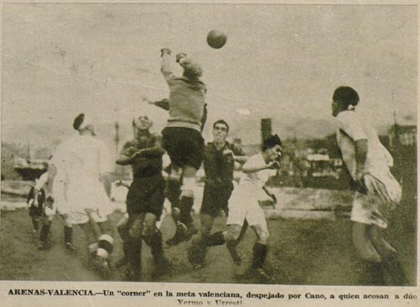 31.12.1933: Arenas Getxo 1 - 2 Valencia CF