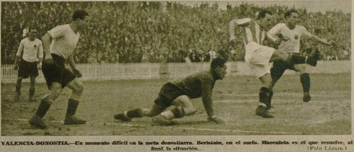 28.01.1934: Valencia CF 4 - 1 Real Sociedad
