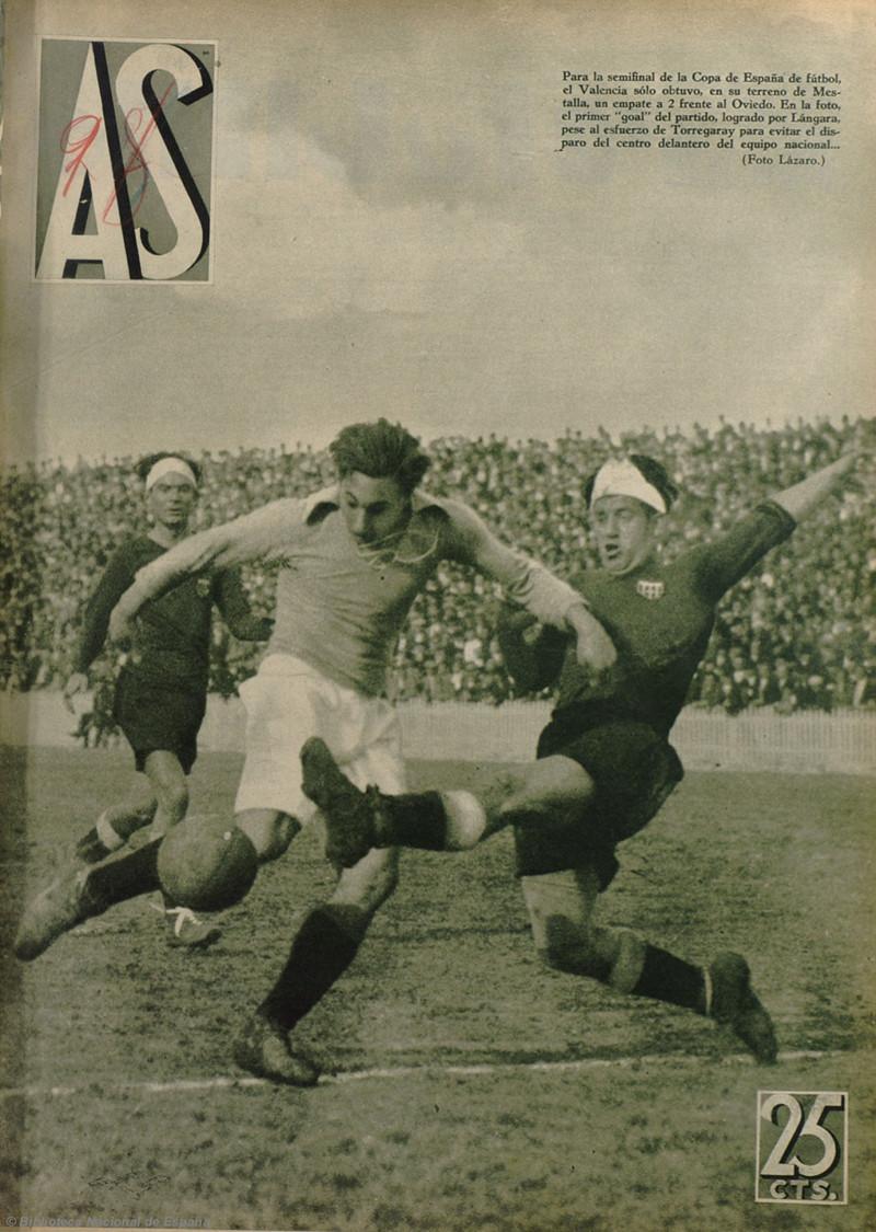 22.04.1934: Valencia CF 2 - 2 Real Oviedo