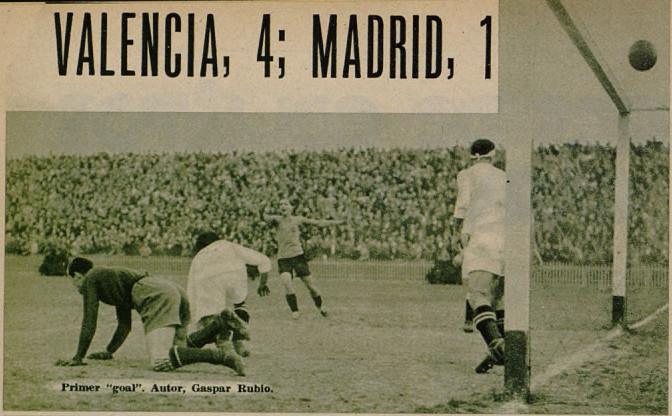 27.01.1935: Valencia CF 4 - 1 Real Madrid