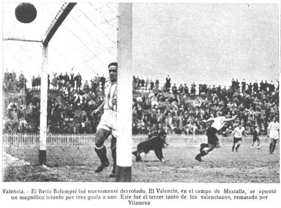 10.03.1935: Valencia CF 3 - 1 Real Betis