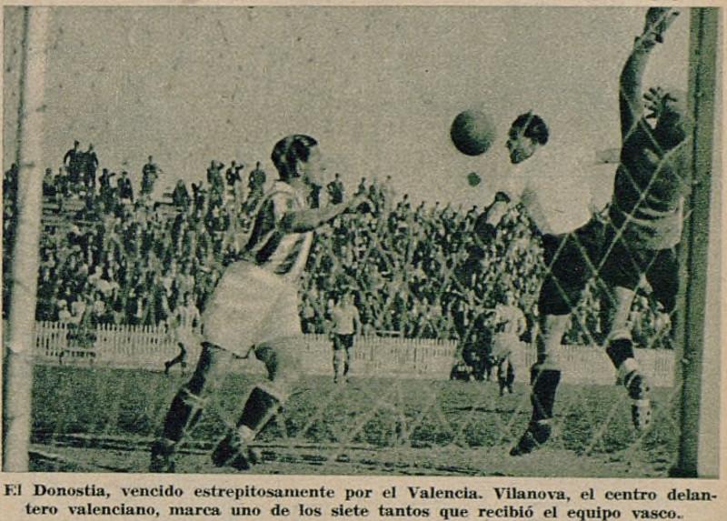 24.03.1935: Valencia CF 7 - 1 Real Sociedad