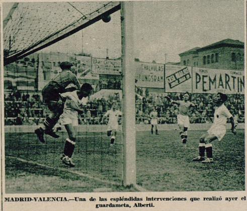 01.12.1935: Real Madrid 4 - 1 Valencia CF