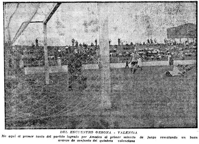15.07.1937: Valencia CF 2 - 2 Girona FC