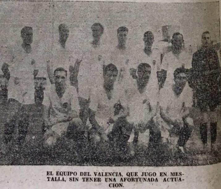 25.06.1939: Valencia CF 1 - 4 Levante UD