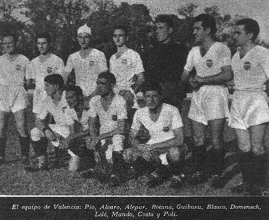 05.11.1939: UDLG 2 - 1 Valencia CF