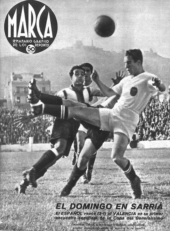 16.06.1940: RCD Espanyol 3 - 1 Valencia CF