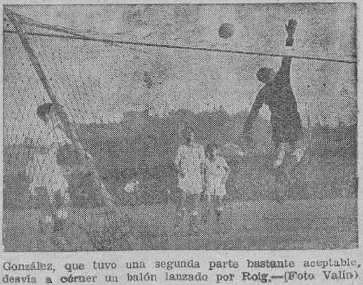 24.11.1940: Celta de Vigo 6 - 2 Valencia CF
