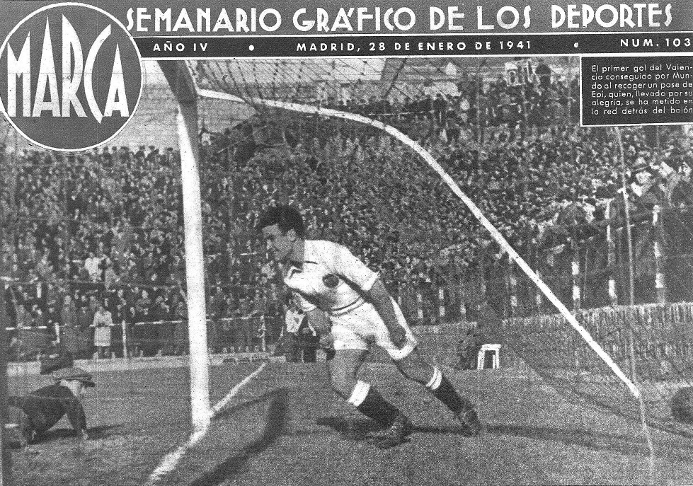 26.01.1941: At. Madrid 2 - 2 Valencia CF