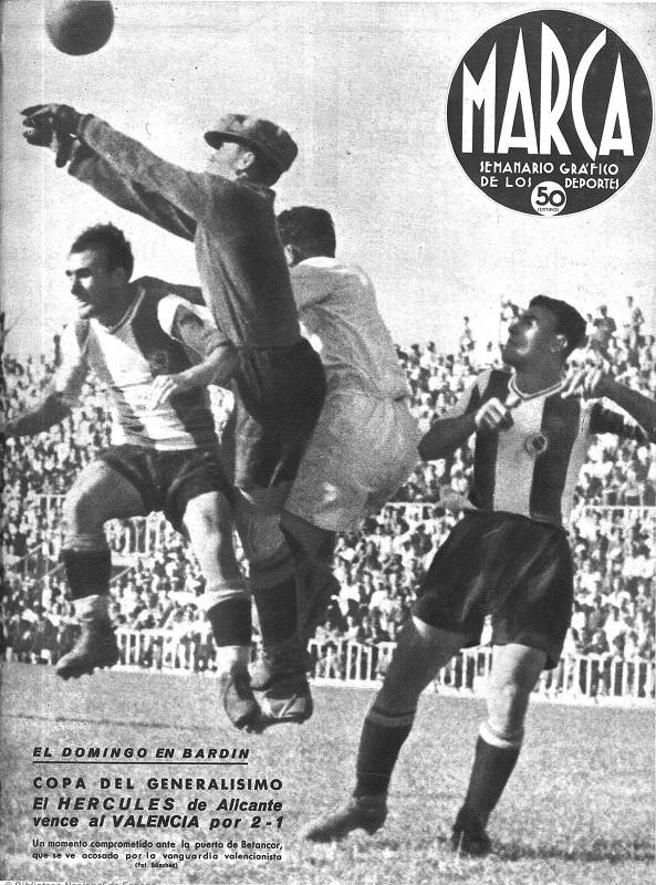 02.06.1940: Hércules CF 2 - 1 Valencia CF