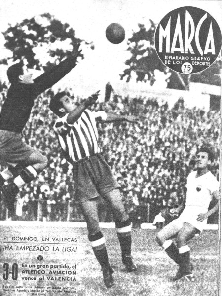 28.09.1941: At. Madrid 3 - 0 Valencia CF
