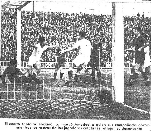 26.10.1941: FC Barcelona 2 - 4 Valencia CF