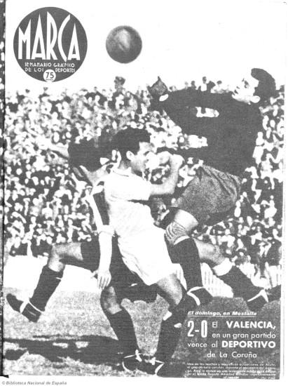 02.11.1941: Valencia CF 2 - 0 Dep. Coruña