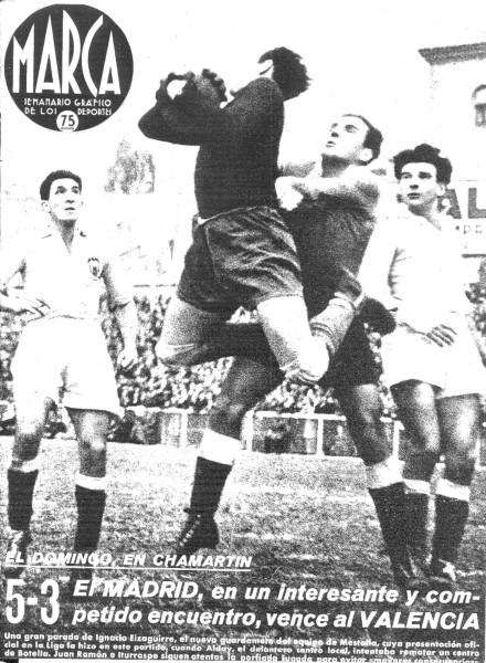 21.12.1941: Real Madrid 5 - 3 Valencia CF