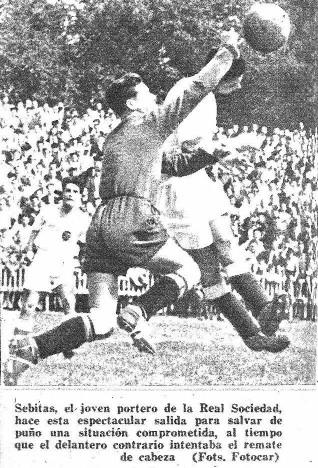 17.05.1942: Real Sociedad 2 - 5 Valencia CF