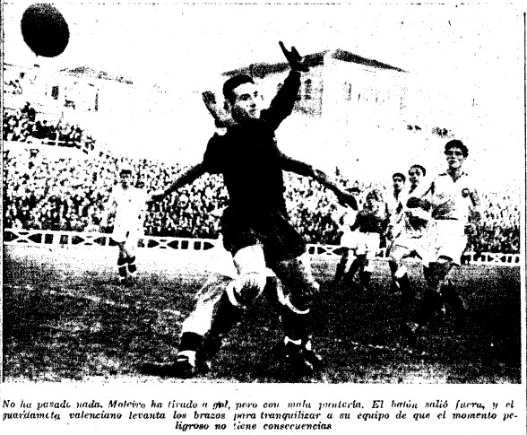 27.12.1942: Real Madrid 0 - 1 Valencia CF
