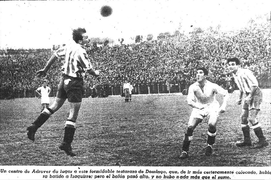 10.01.1943: At. Madrid 1 - 1 Valencia CF